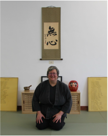 Lisa Hirsch, Nidan, Sensei of Open Door Jujitsu